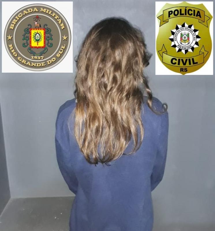 Geral - PC e BM prendem mulher por tráfico de drogas em Santiago - Santiago News