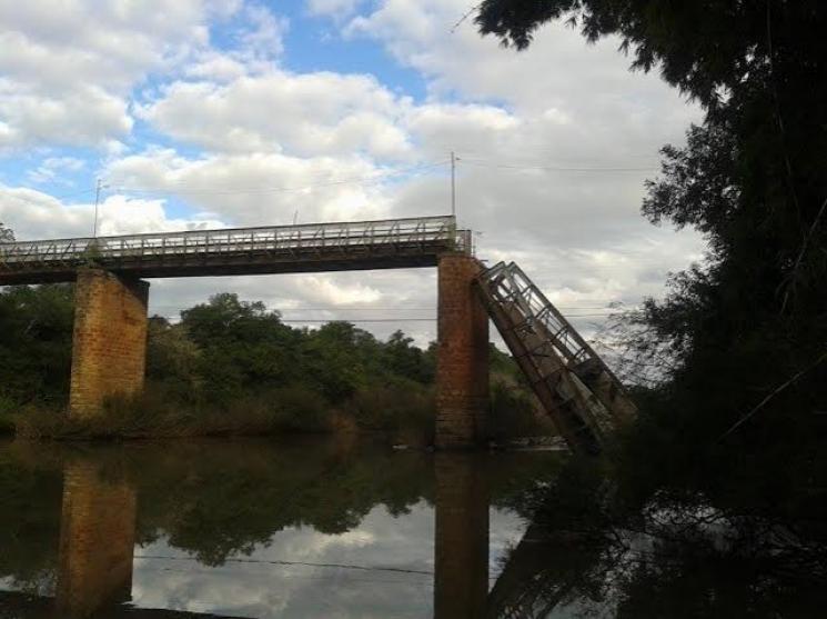 Ponte sobre o rio Jaguari. Foto: Divulgação